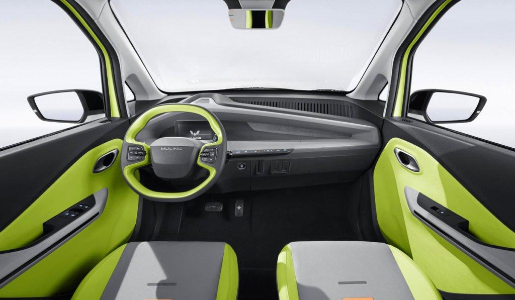 Китайцы показали электромобиль по цене «Гранты»