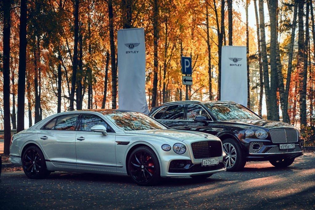 Bentley провела закрытый тест-драйв в Петербурге