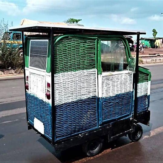 Тук-тук на солнечных батареях и автомобиль-корзина: в ООН показали транспорт для бедных