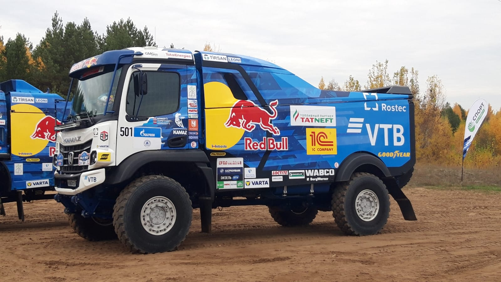 «КАМАЗ-мастер»: какие грузовики  и гонщики поедут  на ралли «Дакар 2022»