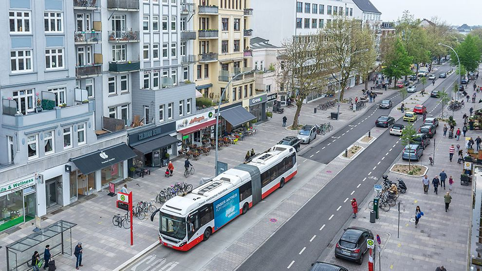 VW начал тестировать беспилотники на улицах Гамбурга