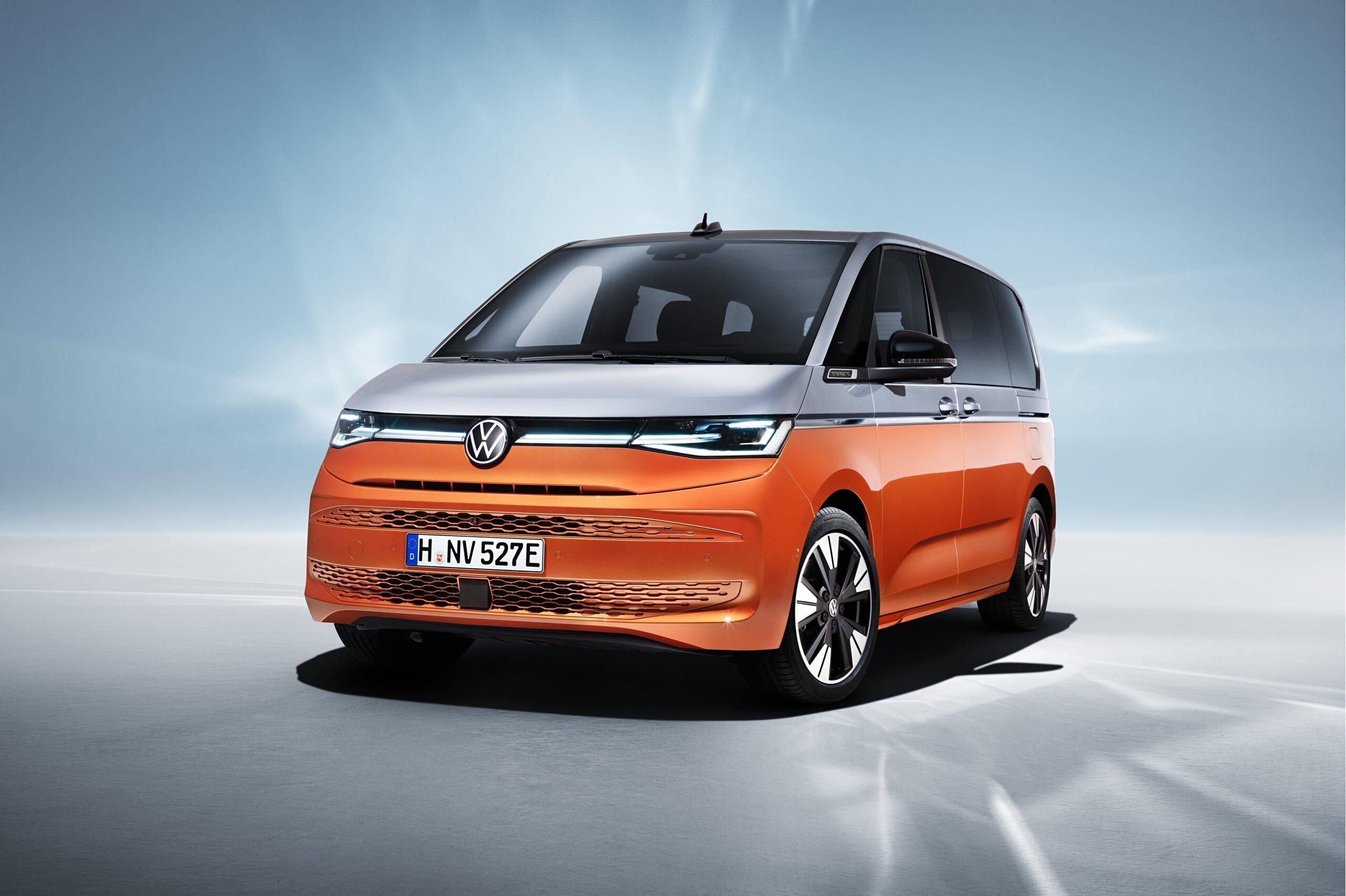 В Германии стартовало серийное производство Volkswagen Multivan Т7