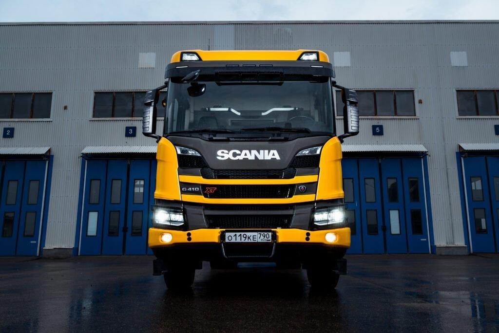 Ломовозы Scania протестируют металлурги